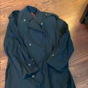 Christian Dior Black Trench Coat